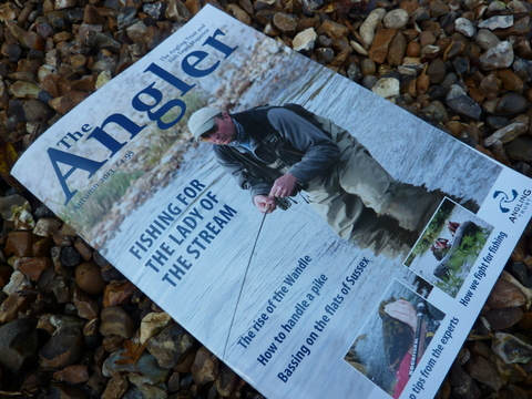 The Angler - front cover