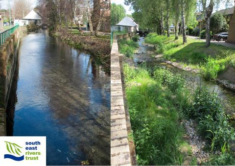 Upper Wandle - WFD related river restoration