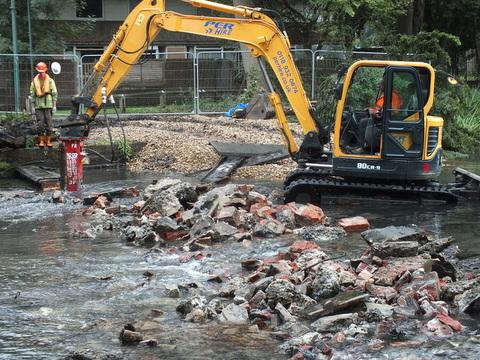 Hackbridge weir removal - Wandle Trust