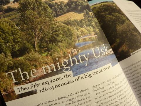 Fallons Angler Usk article